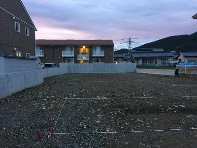 横田の住宅 配置計画_e0180332_193875.jpg