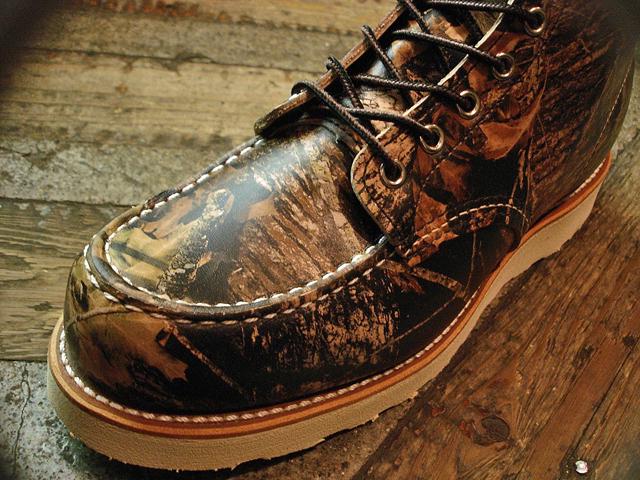 """NEW : REDWING #8884 [Classic Work 6"""" Moc-toe] Camouflage Leather Mossy Oak """"Break-Up"""" 2016 F/W !!_a0132147_20153892.jpg"""