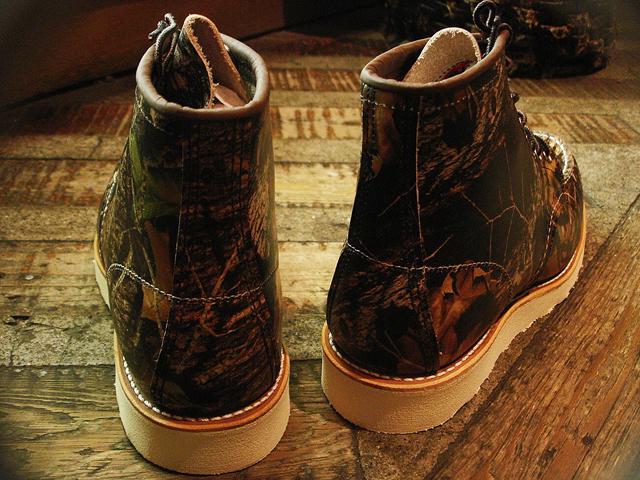 """NEW : REDWING #8884 [Classic Work 6"""" Moc-toe] Camouflage Leather Mossy Oak """"Break-Up"""" 2016 F/W !!_a0132147_2016377.jpg"""