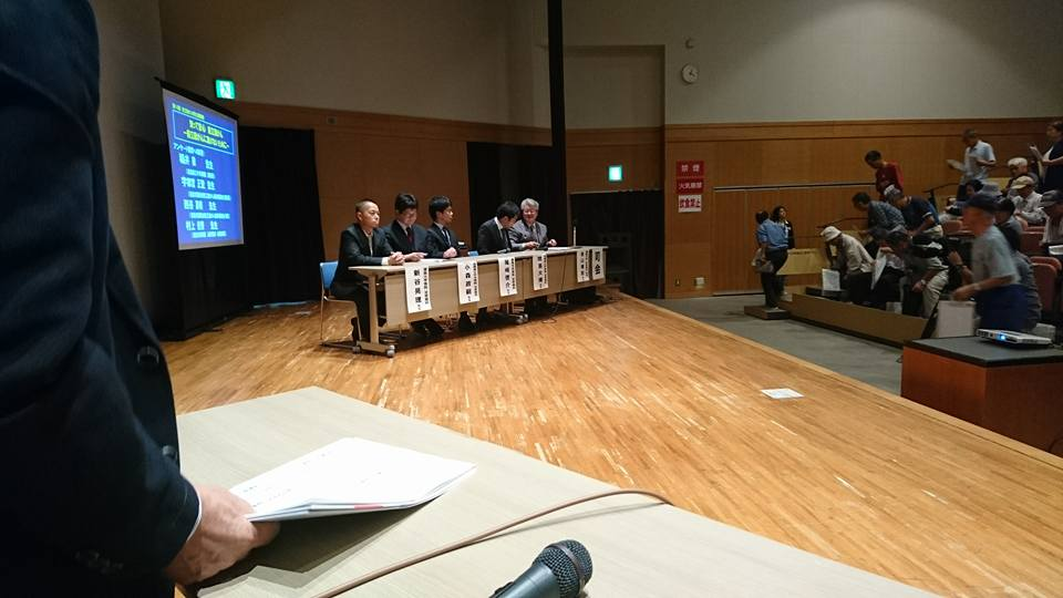 前立腺がん市民公開講座@ふれあい健康館_a0221584_1651553.jpg