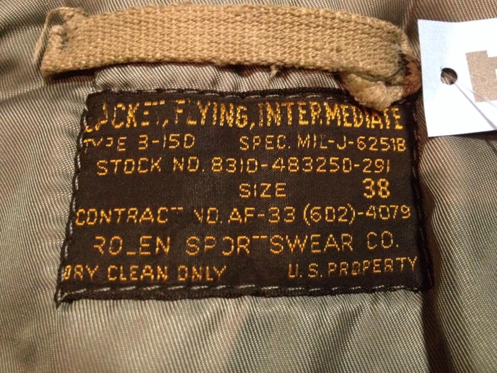 マグネッツ神戸店 明けましておめでとうございます! #1 Flight Jacket!!!_c0078587_197334.jpg