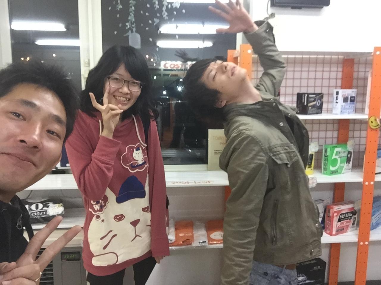 10月4日(火)☆TOMMYアウトレット☆ハイゼット N様納車(*´∇`)ノ あゆブログ♪ 自社ローン_b0127002_19533460.jpg