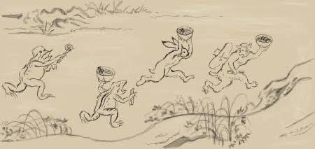 京都高山寺 明恵上人 展ー九州国立博物館ー鳥獣戯画_d0237757_065251.jpg