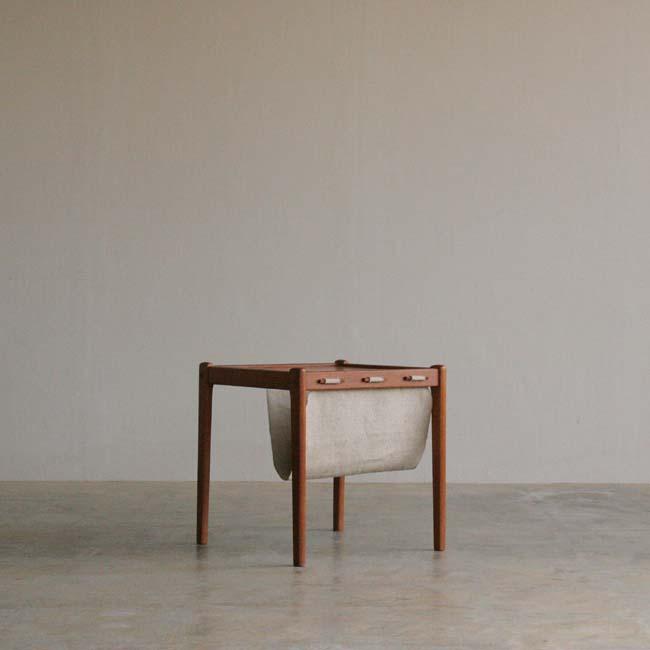 『帆布&チークのサイドテーブル』_c0211307_1741566.jpg