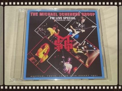 THE MICHAEL SCHENKER GROUP / DEFINITIVE BUDOKAN 1981_b0042308_05385835.jpg