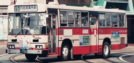 函館市交通局の日野RT/HU +日野車体 3題_e0030537_01270830.jpg