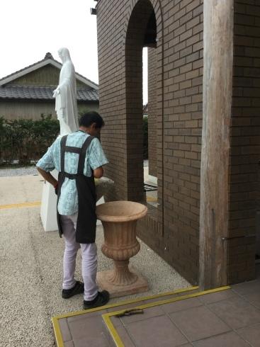 今日のお仕事・・カトリック宮崎教会・・_b0137969_05525669.jpeg