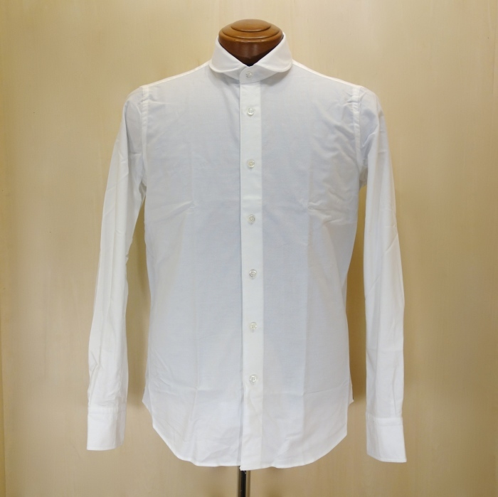 CIT LUXURY(チット・ラグジュアリー)ラウンドカラーピンオックスシャツ(モデル:ANDREW)_c0118375_15031838.jpg