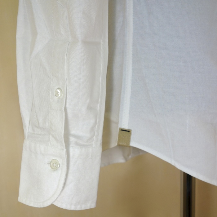 CIT LUXURY(チット・ラグジュアリー)ラウンドカラーピンオックスシャツ(モデル:ANDREW)_c0118375_15040882.jpg