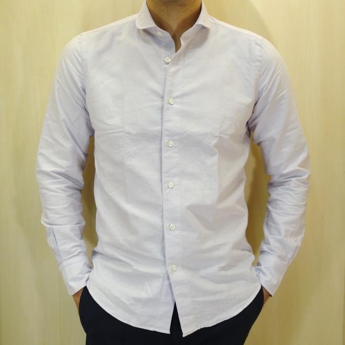 CIT LUXURY(チット・ラグジュアリー)ラウンドカラーピンオックスシャツ(モデル:ANDREW)_c0118375_15084815.jpg