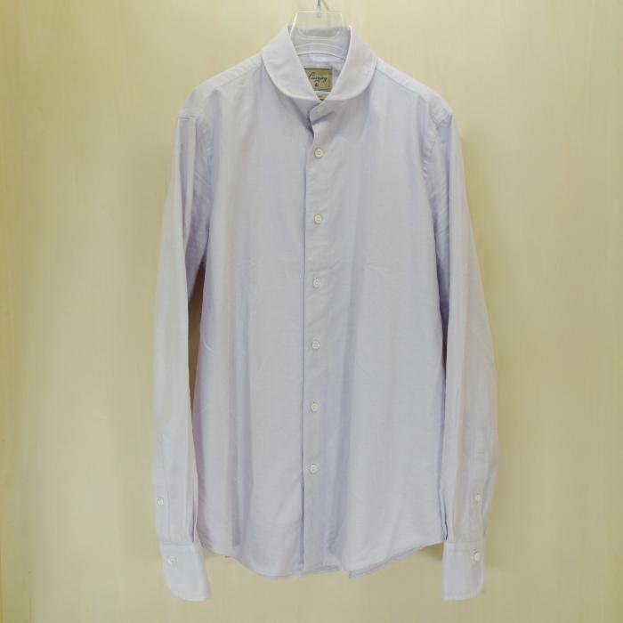 CIT LUXURY(チット・ラグジュアリー)ラウンドカラーピンオックスシャツ(モデル:ANDREW)_c0118375_22570093.jpg