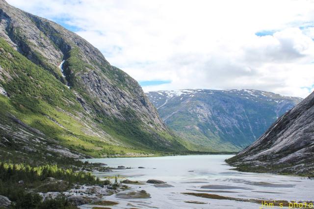 ノルウェーから送られてきた氷河の写真_a0158797_22354693.jpg