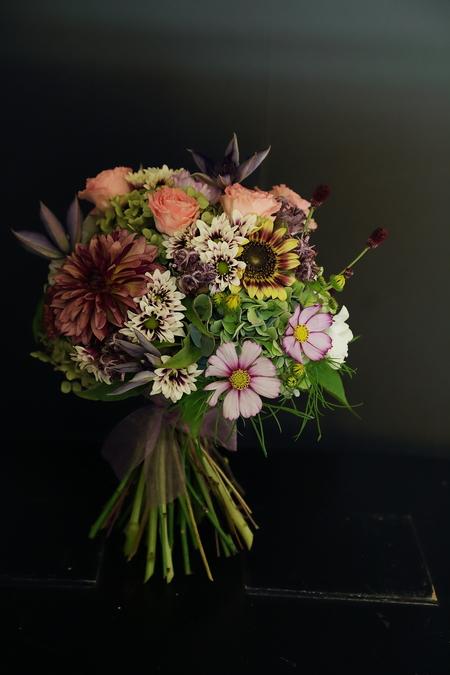 9月一会定期スクール 秋の花のクラッチブーケ _a0042928_18573695.jpg