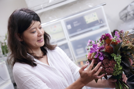 9月一会定期スクール 秋の花のクラッチブーケ _a0042928_18583742.jpg