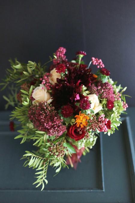9月一会定期スクール 秋の花のクラッチブーケ _a0042928_18592764.jpg