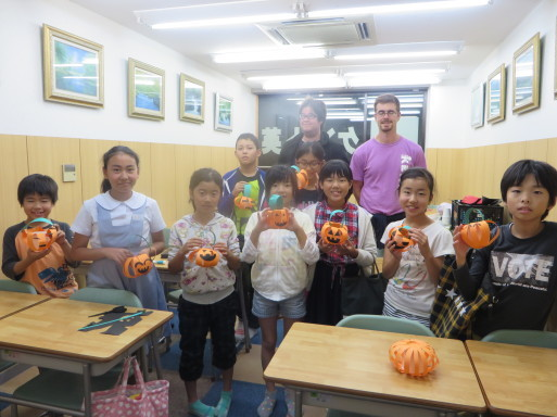 ♦♫♦・*:..。Halloween Craft lesson♪゜・*:.。_c0345439_16265281.jpg