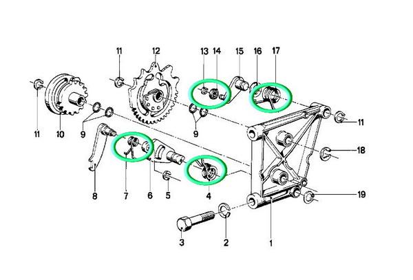 BMW R100RSモノサス ミッションOH_e0218639_639281.jpg