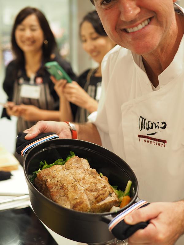 Zwilling Cooking Studio湘南平塚 マリオフリットリ氏特別レッスン_e0158653_22373823.jpg