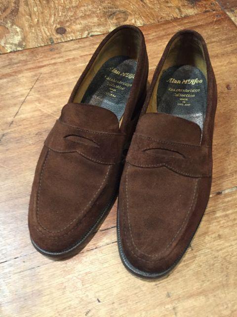 10/8(土)入荷商品!アランマカフィー MADE IN ENGLAND shoes!!_c0144020_13352076.jpg