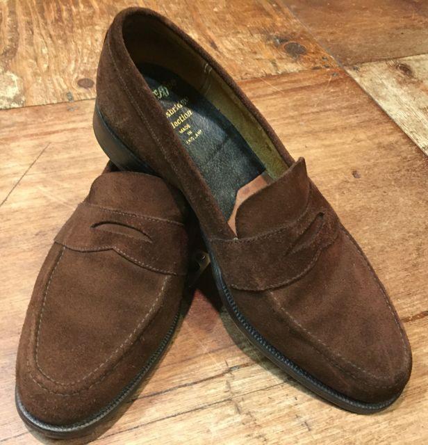 10/8(土)入荷商品!アランマカフィー MADE IN ENGLAND shoes!!_c0144020_13352228.jpg