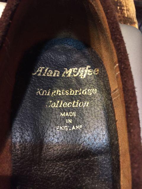 10/8(土)入荷商品!アランマカフィー MADE IN ENGLAND shoes!!_c0144020_13425853.jpg