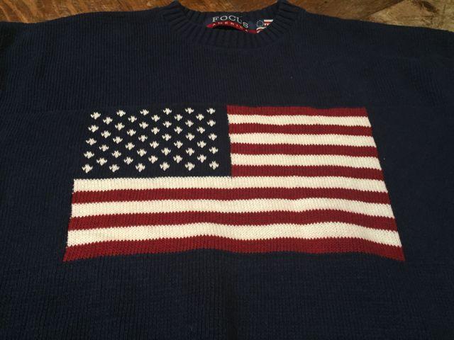 10/8(土)入荷商品! アメリカンフラッグ コットンニットセーター!_c0144020_13481957.jpg