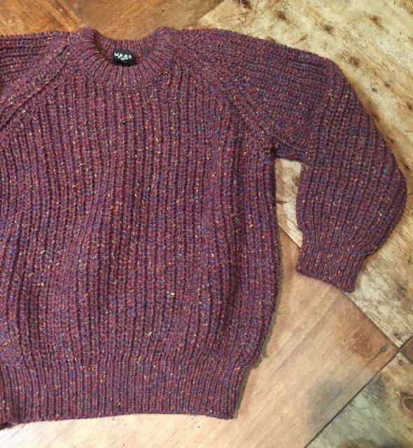 10/8(土)入荷商品!PURE NEW WOOL MADE IN IRELAND ! セーター!!_c0144020_1492138.jpg
