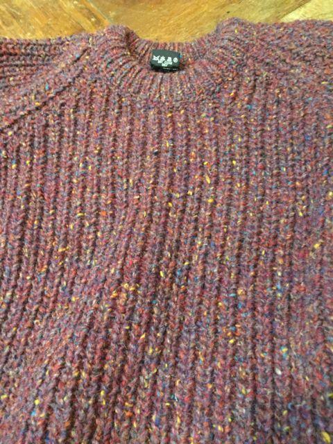 10/8(土)入荷商品!PURE NEW WOOL MADE IN IRELAND ! セーター!!_c0144020_1492378.jpg