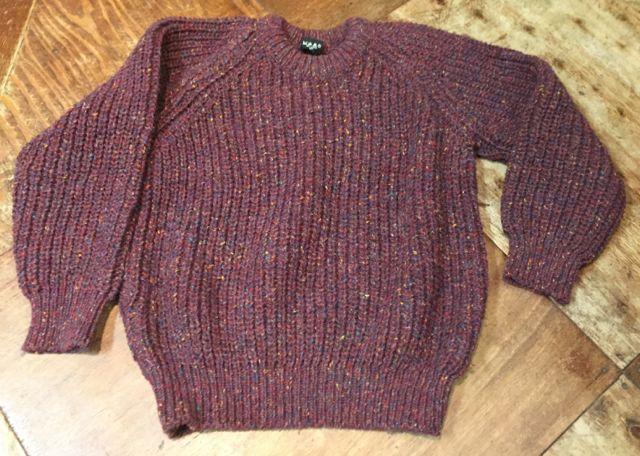 10/8(土)入荷商品!PURE NEW WOOL MADE IN IRELAND ! セーター!!_c0144020_1492620.jpg