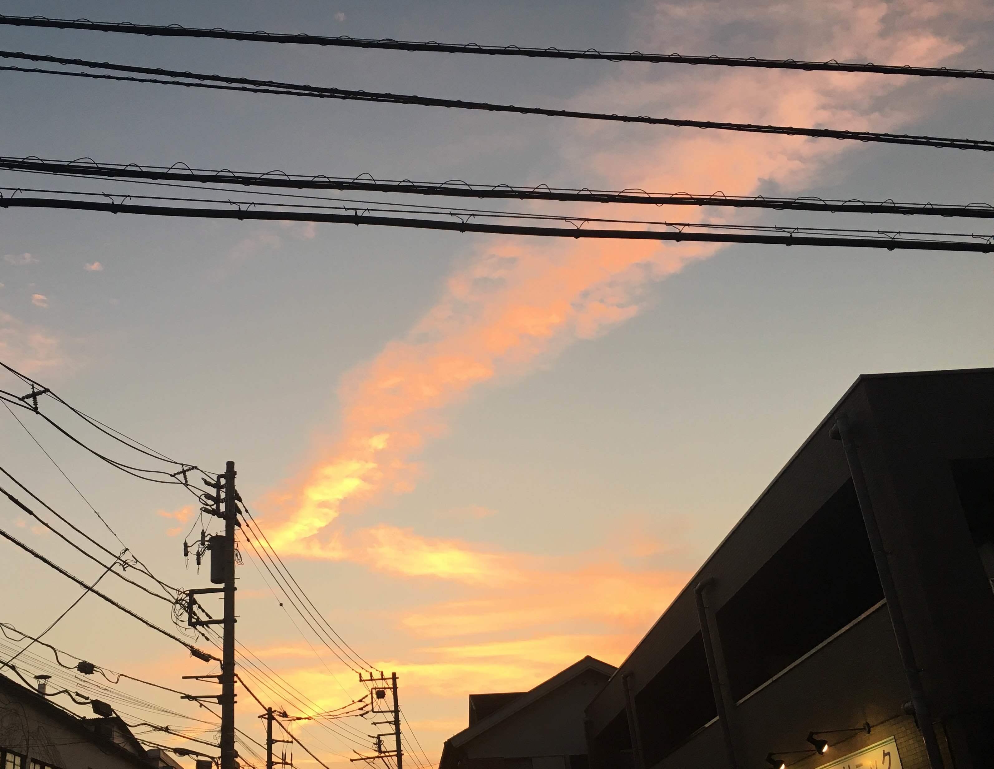 《空と雲》最近の空~天に昇る龍のよう。~_b0298740_13255932.jpg