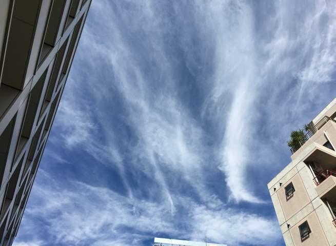 《空と雲》最近の空~天に昇る龍のよう。~_b0298740_13260482.jpg