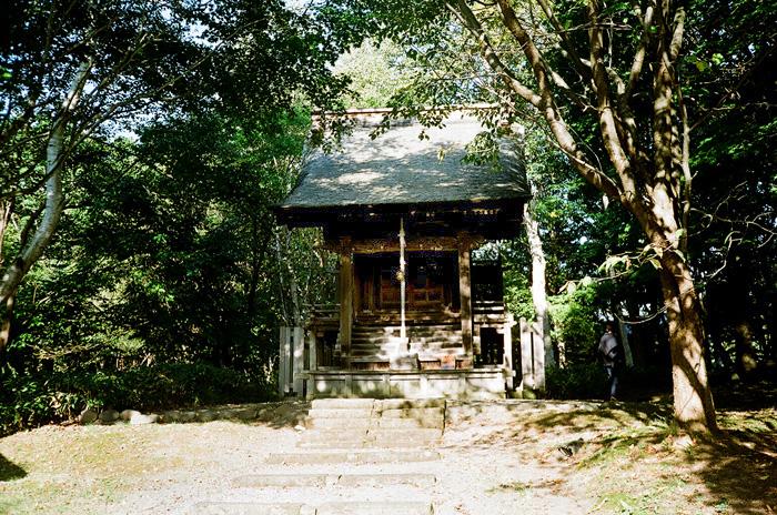 旧信濃神社と神主さんの来訪と焼肉屋_c0182775_16121913.jpg