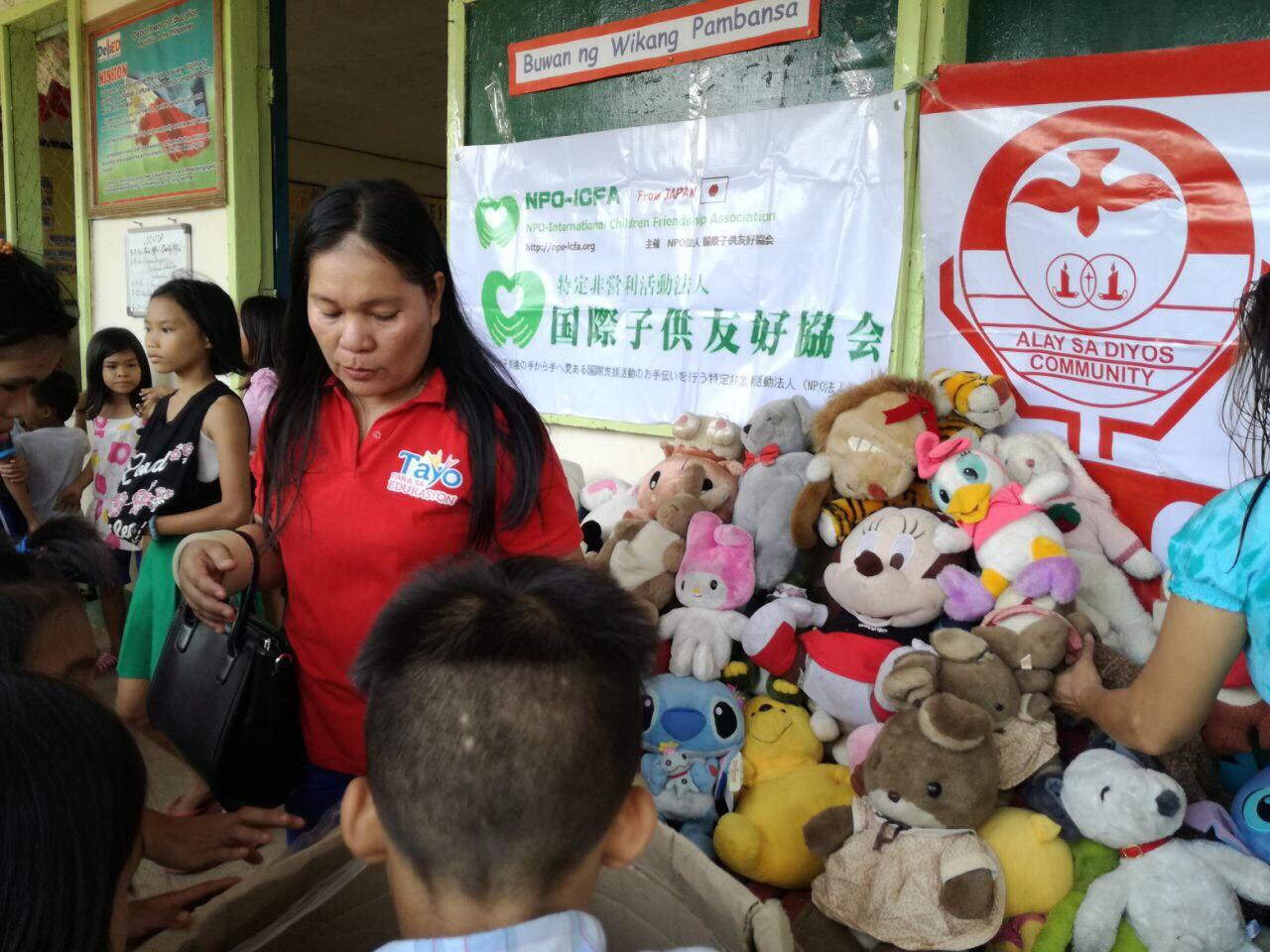 ミンダナオ島Ozamiz Litapan Elementary Schoolでの寄付活動のご報告_e0135675_21175450.jpg
