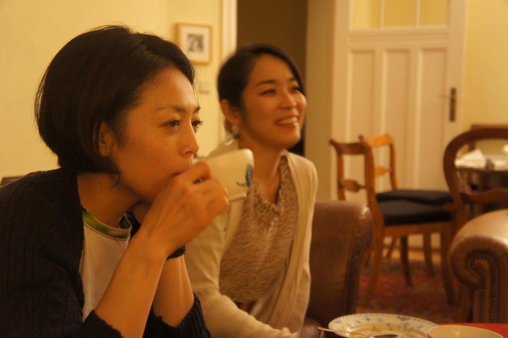 CXのS特派員、栄転お祝い晩餐。_c0180686_15454589.jpg