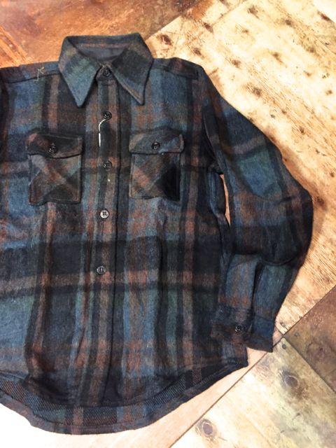 10/9(日)入荷! デッドストック C.P.O WOOOL shirts!!_c0144020_14252252.jpg