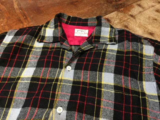 10/9(日)入荷!50s Penny\'s Town Topic wool shirts!!_c0144020_1456326.jpg