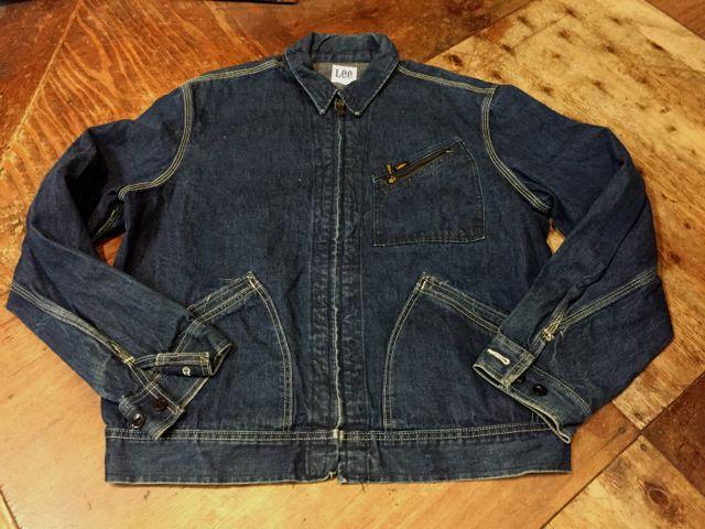 10/9(日)入荷! 60s〜Lee 91-B Denim Jacket!!_c0144020_15172368.jpg