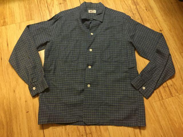 10/9(日)入荷!60s all cotton オープンカラー ボックス シャツ!_c0144020_1520103.jpg