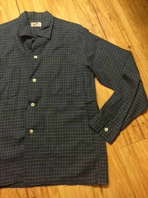 10/9(日)入荷!60s all cotton オープンカラー ボックス シャツ!_c0144020_1520128.jpg