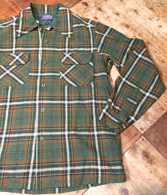 10/9(日)入荷!70s~PENDLETON WOOL shirts!!_c0144020_1561984.jpg