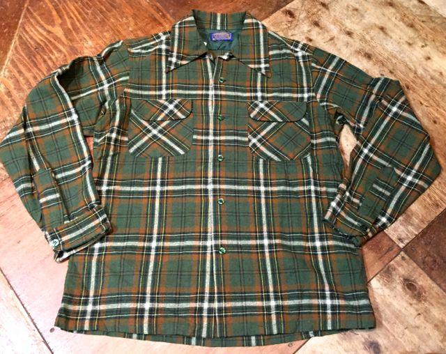 10/9(日)入荷!70s~PENDLETON WOOL shirts!!_c0144020_1562176.jpg