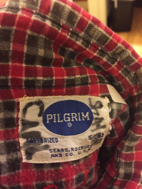 10/9(日)入荷! 60s マチ付き Pilgrim プリントネル WORK SHIRTS!_c0144020_16563431.jpg