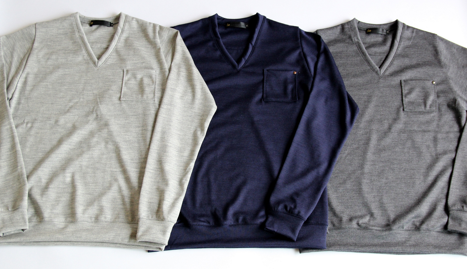 High Gauge Wool Pocket V-neck _e0142928_8242178.jpg