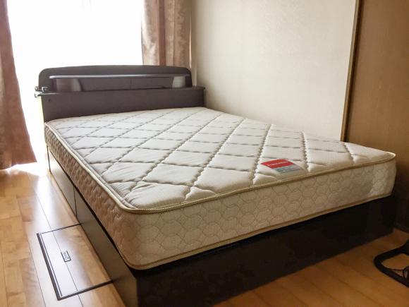 家具屋の配達日記 ダブルベッドをお届けしました_e0353340_10280246.jpg