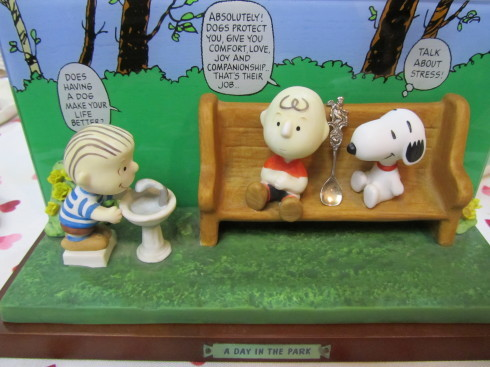 スヌーピーのイレブンジズ。。。A day in the park peanuts limited edition☆*:.。.☆*†_a0053662_20101608.jpg