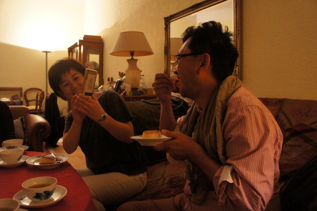 CXのS特派員、栄転お祝い晩餐。_c0180686_05431431.jpg