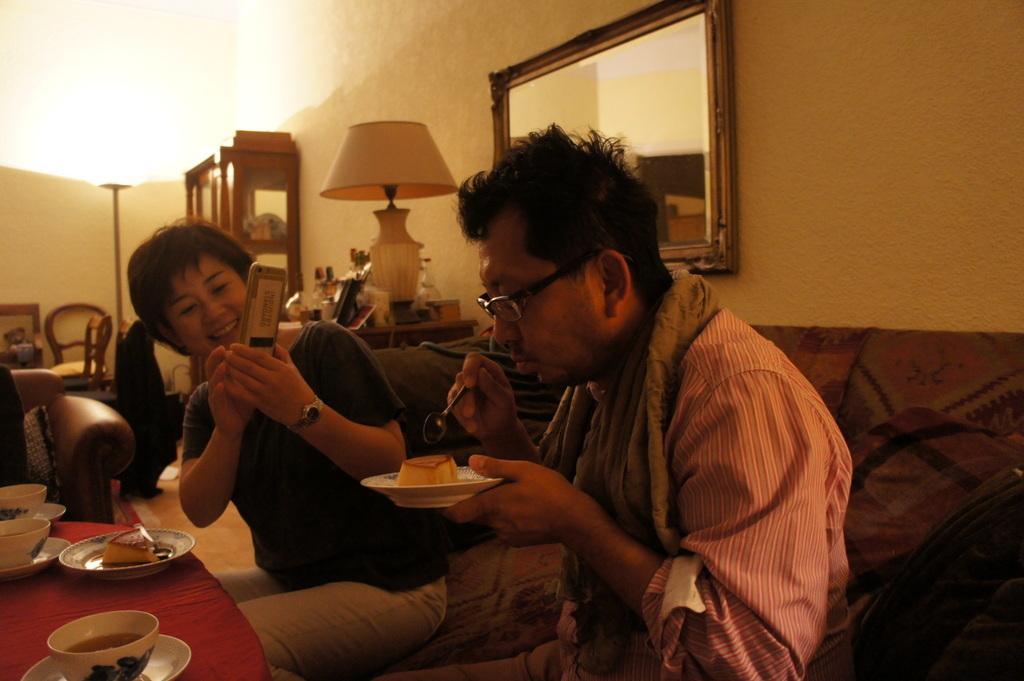 CXのS特派員、栄転お祝い晩餐。_c0180686_05432027.jpg
