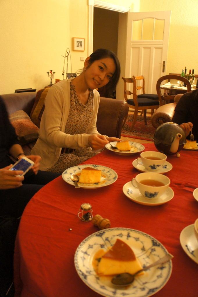 CXのS特派員、栄転お祝い晩餐。_c0180686_05432630.jpg