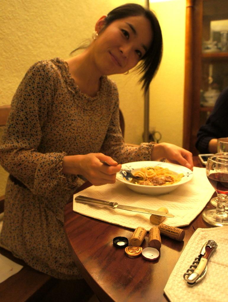 CXのS特派員、栄転お祝い晩餐。_c0180686_05441649.jpg