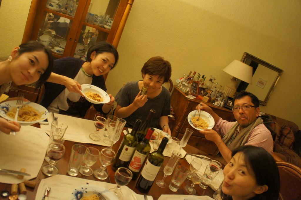 CXのS特派員、栄転お祝い晩餐。_c0180686_05442235.jpg